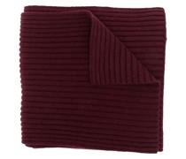 chunky rib-knit scarf