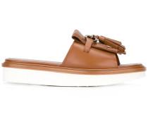 flat platform sandals