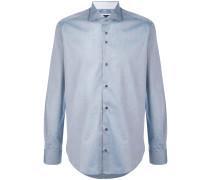 curved hem shirt - men - Baumwolle - 44