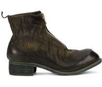 Stiefel in Distressed-Optik