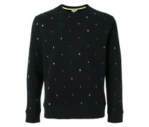 Pullover mit rechteckigem Print - men