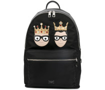 designer's patch backpack