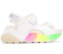 Mehrfarbige Sandalen