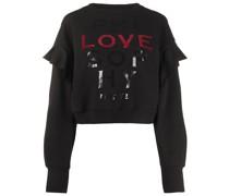 """Pullover mit """"Love""""-Slogan"""