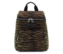 Rucksack mit Tiger-Print