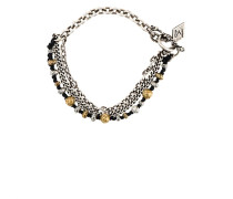 Silberarmband mit Perlen