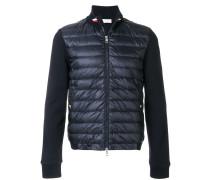 padded sweatshirt jacket
