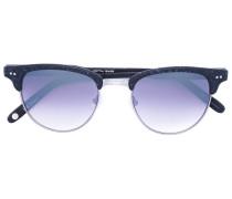 Sonnenbrille mit Gläsern mit Farbverlauf