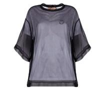 semi-sheer short-sleeve T-shirt