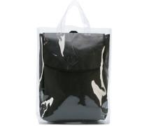 Rucksack in transparenter Tasche - men