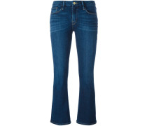 Cropped-Jeans mit Bootcut - women