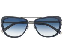 Pilotenbrille mit dickem Gestell