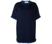 Ungesäumtes T-Shirt-Kleid