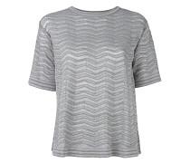 - Metallisches T-Shirt - women