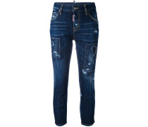'London' Cropped-Jeans