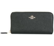 Portemonnaie aus gekörntem Leder - women