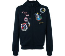 space patch hoodie