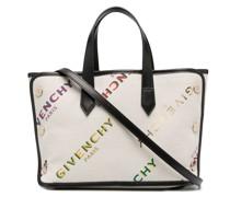 Bond Shopper logo-print tote bag
