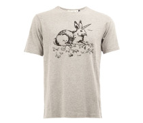 """T-Shirt mit """"Rabbit""""-Print"""