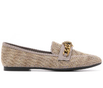 'Chelsea' Tweed-Loafers
