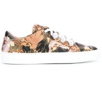 - Sneakers mit bedruckter Schnürung - women