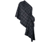 Oversized-Schal mit Karomuster