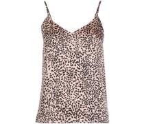 Camisole-Top mit Leoparden-Print