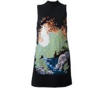 Kleid mit Landschafts-Print - women