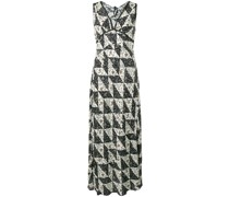 'Bias' Kleid mit Print