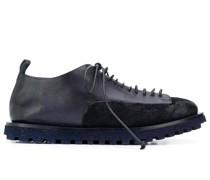 Derby-Schuhe im Kontrast-Look