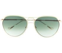x Linda Farrow 'Holly' Pilotenbrille