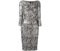 'Kora' Kleid im Metallic-Look