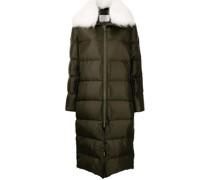 Gefütterter Oversized-Mantel