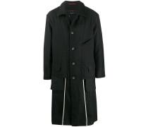 Oversized-Mantel mit Kordelzug