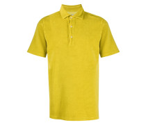 Texturiertes Poloshirt