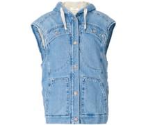 Jeansjacke mit angeschnittenen Ärmeln - Unavailable
