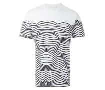 - T-Shirt mit Zickzack-Print - men - Baumwolle - M