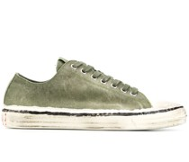 Bemalte Canvas-Sneakers