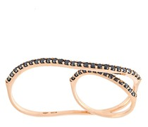 18kt 'Eclipse' Rotgoldring