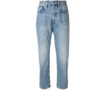 Cropped-Jeans mit schmalem Bein