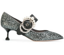 Glitzernde Pumps