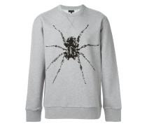 Sweatshirt mit Spinnen-Print