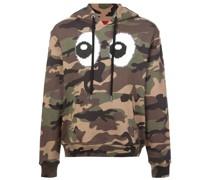 'Camouflage Eyez' Kapuzenpullover