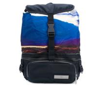 sunset scene backpack