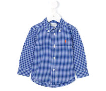 Button-down-Hemd mit Vichy-Karomuster