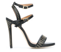 studded buckled sandals