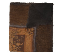fauna & flora print scarf
