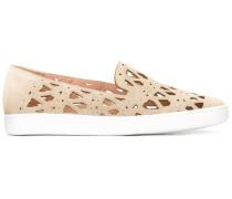 Perforierte Slip-On-Sneakers