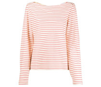 open-back striped jumper