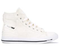 High-Top-Sneakers mit Tasche